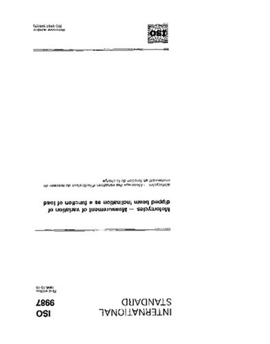 ISO 9987:1990, Motorcycles - Measurement of variation of dipped beam inclination as a function of load PDF