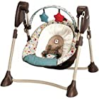 Graco - Swing By Me Portable 2-in-1 Swing, Twister