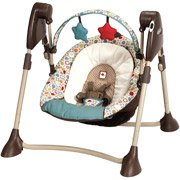 Graco - Swing By Me Portable 2-in-1 Swing, Twister walther silver tac