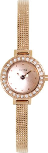 GUESS U0133L3 Rose Gold-Tone Petite And Feminine Watch