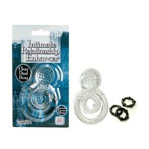 31eBPDq4%2BlL. SL500  California Exotics / Swedish Erotica Dr. Joel Kaplan Intimate Relationship Enhancer Clear Dual Ring Adult Sex Toy Kit