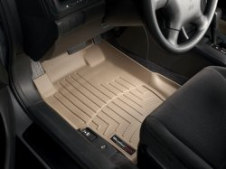 img View detail WeatherTech 453681 Tan Front FloorLiner from amazon.com