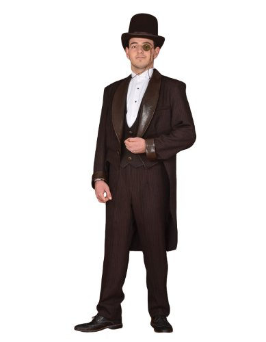 Deluxe Steampunk Theatrical Quality Victorian Costume Suit, Large