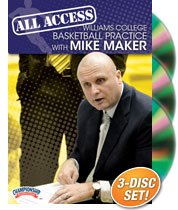 All Access Williams College Basketball Practice with Mike Maker (DVD) by Championship Productions