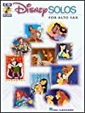 Disney Solos for Alto Sax - BK+CD