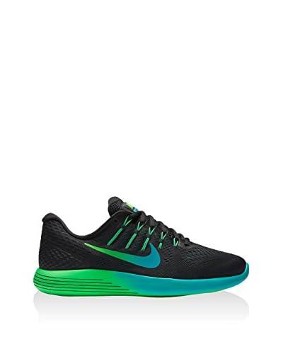 Nike Sneaker Lunarglide 8 [Nero/Multicolore]