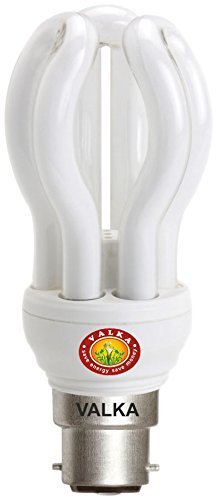 85W Lotus CFL Bulbs (White,Pack of 2)