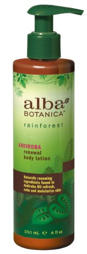Alba Rainforest Andiroba Renewal Body Lotion, 8-Ounce Bottles (Pack of 2)