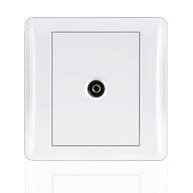 Yandurable White Panel Tv Socket