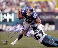 Shockey, Jeremy (New York Giants) Autographed/Hand Signed 8x10 Photo Photo at Amazon.com
