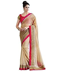Sonani Fashion Designer Plain Georgette Party Wear Saree With Blouse Piece
