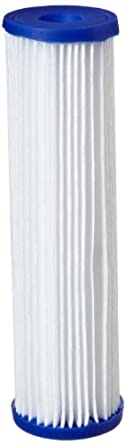 "Pentek R30 Pleated Polyester Filter Cartridge, 9-3/4"" x 2-5/8"", 30 Microns"