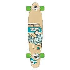 """46"""" Complete 8 ply maple longboard skateboard NEW Slow Dayz Blue"""