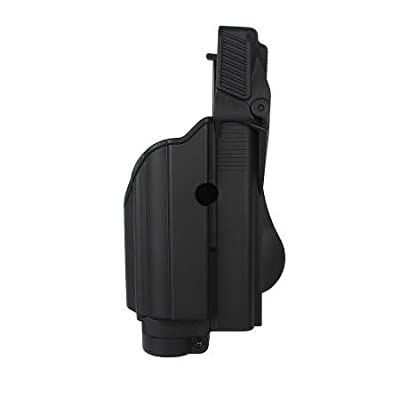 Tactical light/laser holster level II for Glock 17, Glock 19, Glock 22, Glock 23, Glock 25, Glock 31, Glock 32