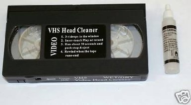 K1- New S/Vhs Video Head Cleaner + Fluid Vhs/Pal/Secam front-93884
