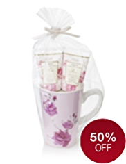 Floral Collection Rose Mug Gift Set