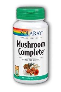 Solaray Mushroom Complete Supplement, 1175 mg, 60 Count