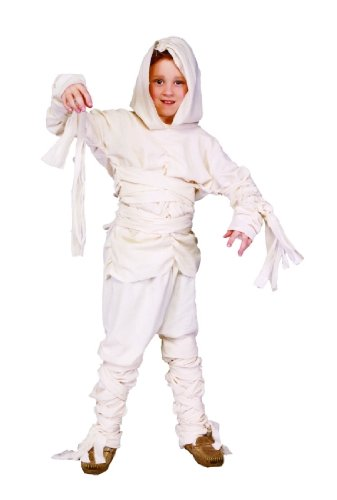 Child's Mummy Halloween Costume (Size:Medium 8-10)