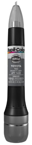 Dupli-Color ATY1632 Magnetic Gray Toyota Exact-Match Scratch Fix All-in-1 Touch-Up Paint - 0.5 oz. (2008 Toyota Yaris Paint compare prices)