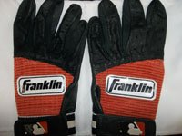 Signed Bond, Brock (Fresno Grizzlies) 1 Pair of Un-Game Worn Baseball Batting Gloves... by Powers Collectibles