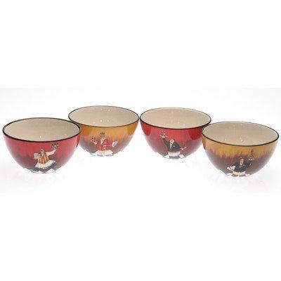 Bistro Ice Cream Bowl (Set Of 4)