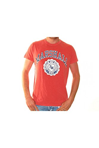 xs-tee-shirt-franklin-marshall-tsmr716-rouge