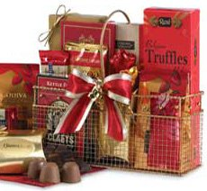 For The Love and Joy of Chocolate Gift Basket