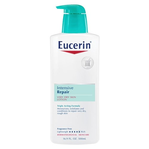Eucerin Eucerin Lotion, Intensive Repair, 16.9-Ounce Bottles (Pack of 2)