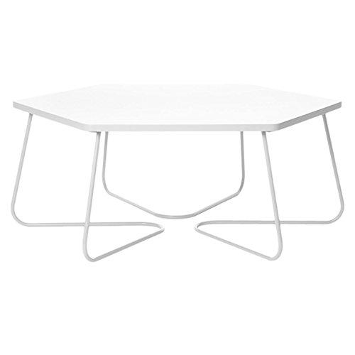 Leitmotiv Beistelltisch, groß, sechseckige Tischplatte