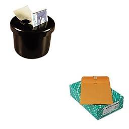KITLEE40100QUA38190 - Value Kit - Quality Park Clasp Envelope (QUA38190) and Lee Ultimate Stamp Dispenser (LEE40100)