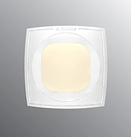 Glowmac-GL-DN-CP02W-N-D019W60-19-Watt-Capeo-Square-Down-LED-Light-(Pack-of-2,-Warm-White)