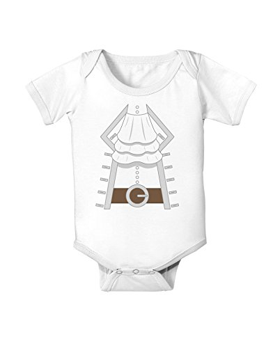 Pirate Captain Costume Silver Baby Romper Bodysuit