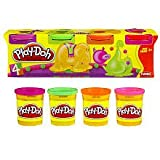 Play-Doh: 4-Pack - Neon Colors