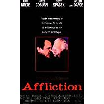 AFFLICTION ORIGINAL MOVIE POSTER