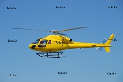 Wallmonkeys Peel and Stick Wall Graphic - Yellow Helicopter Doing First Flights - 60