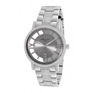 Kenneth Cole New York Grey Transparent Stainless Steel Men's watch #KC9315