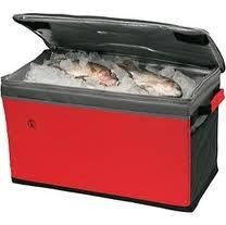 Coleman 48-Can Soft Chest collapsible cooler RED