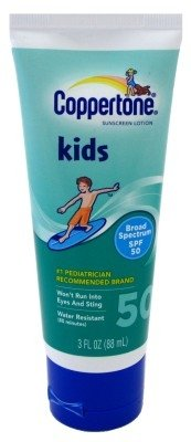 Coppertone Spf#50 Kids Lotion 3oz Tube (2 Pack) - 1