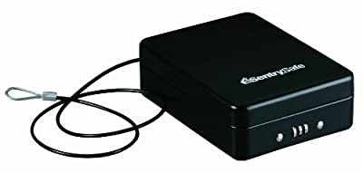 Sentry Safe P005C Kompakttresor mit 1,3 l Kapazität - schwarz