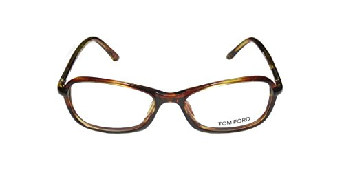 [Tom Ford 5136 Womens/Ladies Designer Full-rim Eyeglasses/Eyeglass Frame (53-16-130, Havana)] (Salt And Pepper Costumes Make Your Own)