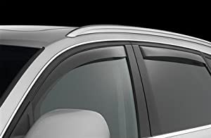NISSAN ROGUE WINDOW DEFLECTORS VISORS RAIN GUARDS EXTERIOR TRIM COVER SET 2011 2012 2013