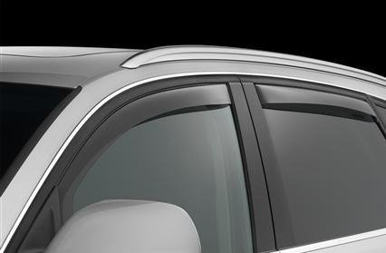 Nissan Juke Window Deflectors Visors Rain Guards Exterior Trim Cover Set 2010 2011 2012 2013