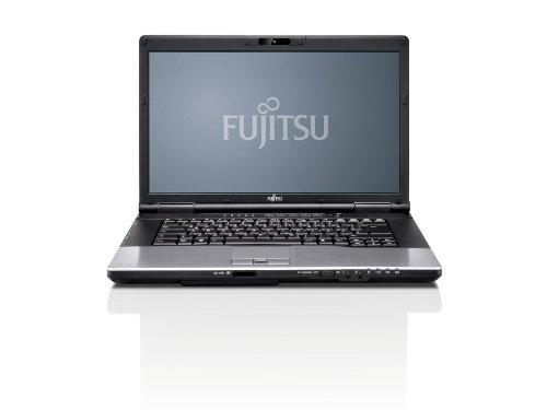 Fujitsu LIFEBOOK E752 VPRO 39,6cm (15,6 Zoll) Business Notebook (Intel Core i7-3540M bis zu 3.60GHz, 8GB, DVDRW, 128GB SSD SATA III Highspeed, WLAN, Win 7 Pro vorinstalliert) schwarz, weiße Tastatur