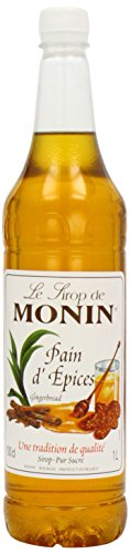 Monin Premium Gingerbread Syrup 1 L