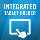 Integrated Tablet Holder