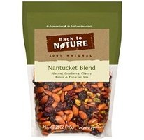 Back to Nature Percent Natural Nantucket Blend Almond Cranberry Cherry Raisin and Pistachio Mix 28 Ounce Bag 100