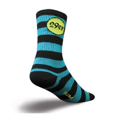 Buy Low Price SockGuy Wool Crew 6in 29er Cycling/Running Socks (B0041REE50)