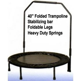 40-Inch-Folded-Trampoline-Rebounder-with-Arm-Handler-Stabilizing-Bar