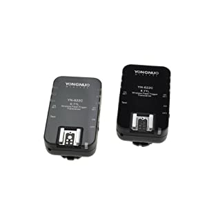 Yongnuo YN-622C Wireless E-TTL Flash Trigger 1/8000s Flash Ratio for Canon Camera