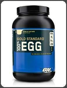 100% Egg Protein, Vanilla Custard - 910g by Optimum Nutrition